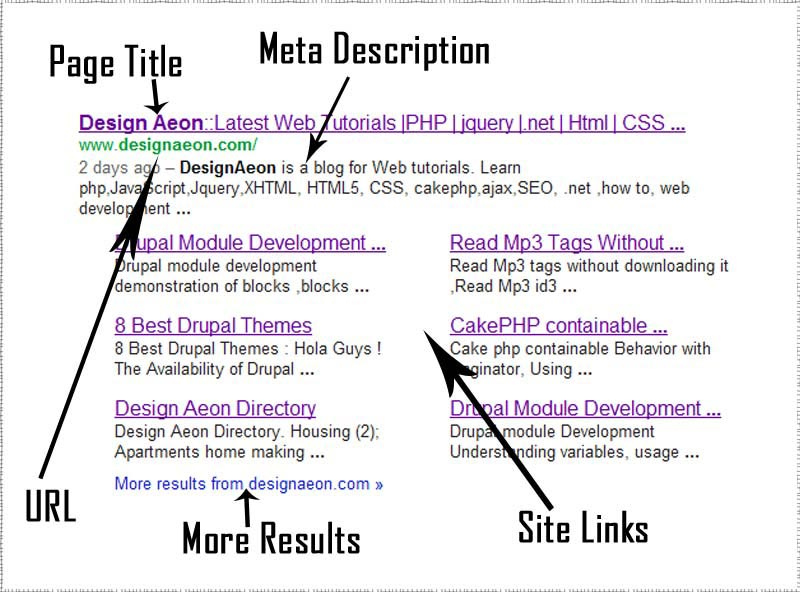 SERPs Meta Data