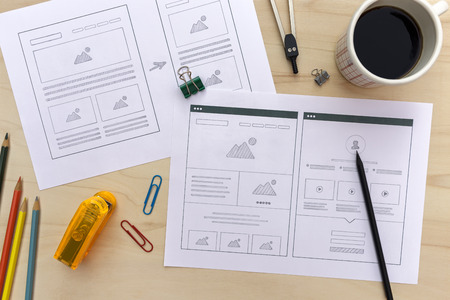 Responsive Web Design Wireframe