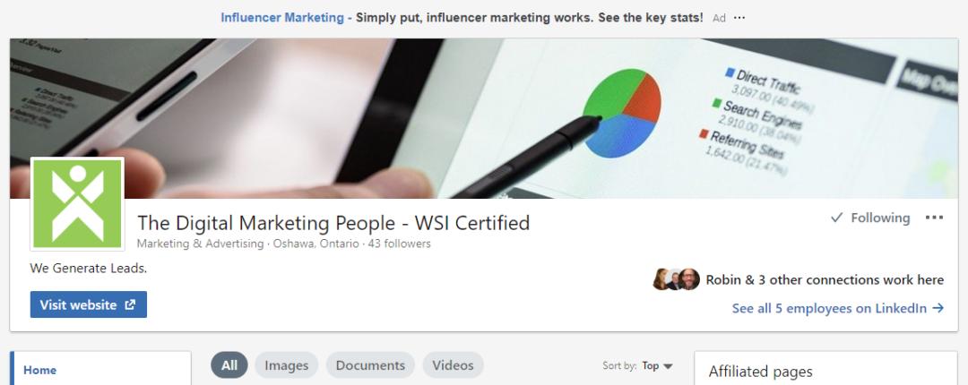 LinkedIn Company Page Banner